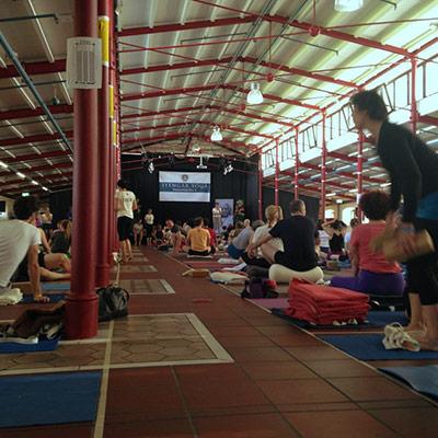 convention de yoga Iyengar à Bielefeld