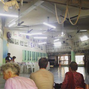 la grande salle du RIMYI
