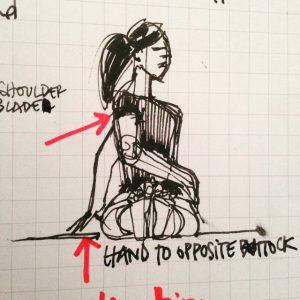 parsva-dandasana-sketch