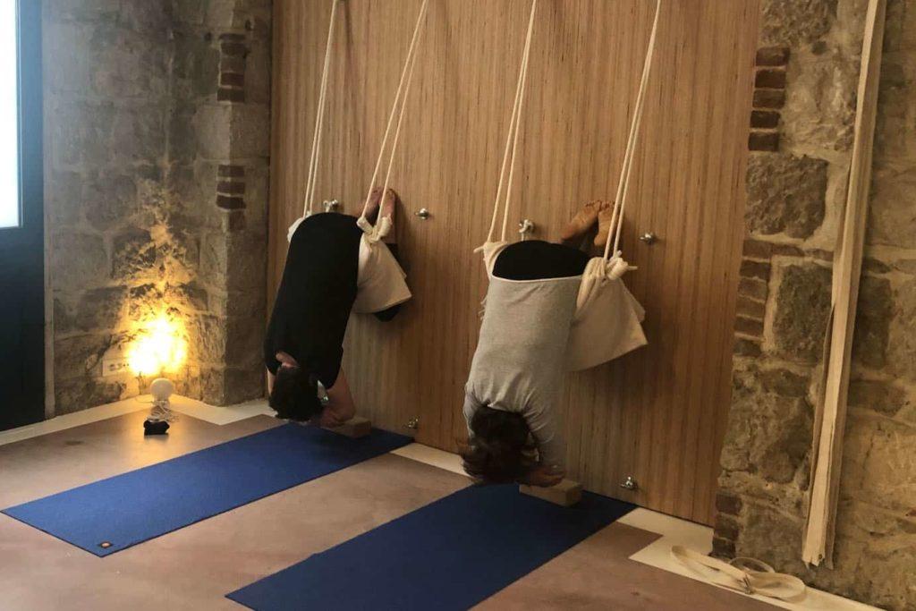 cours de yoga pour le dos