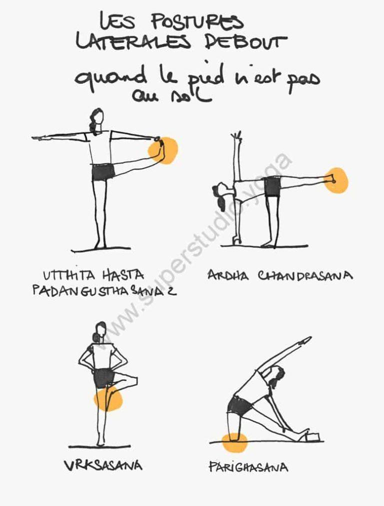 postures latérales debout yoga iyengar